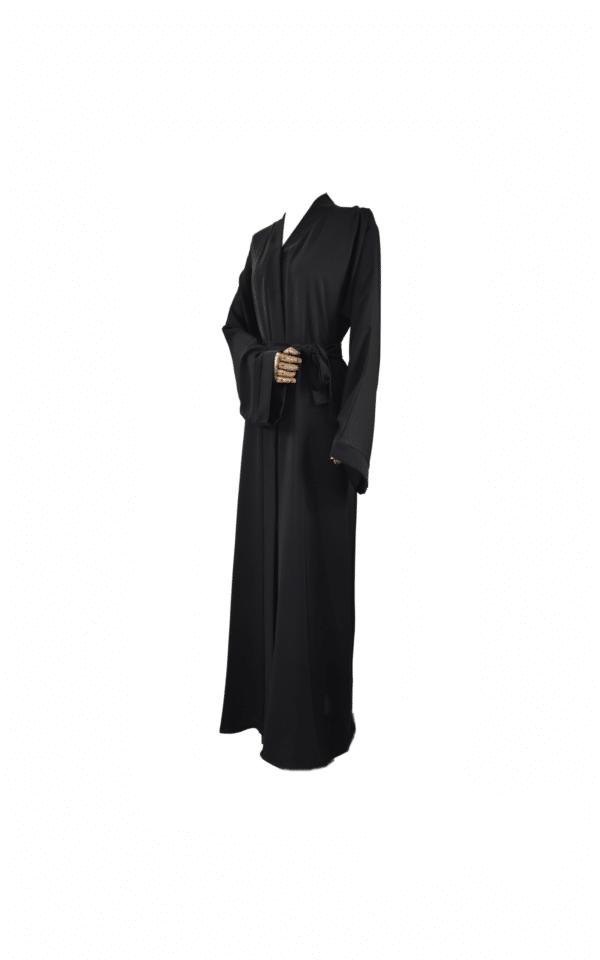 Abaya-Kimono-Simple-Noire Ma-Abaya