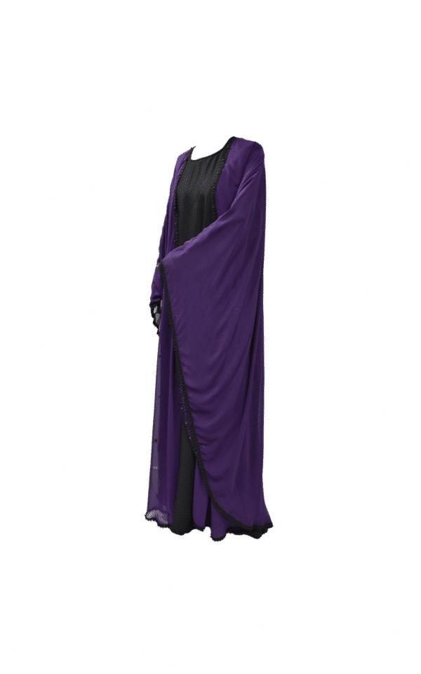 Abaya-Cape-Violette Ma-Abaya 2