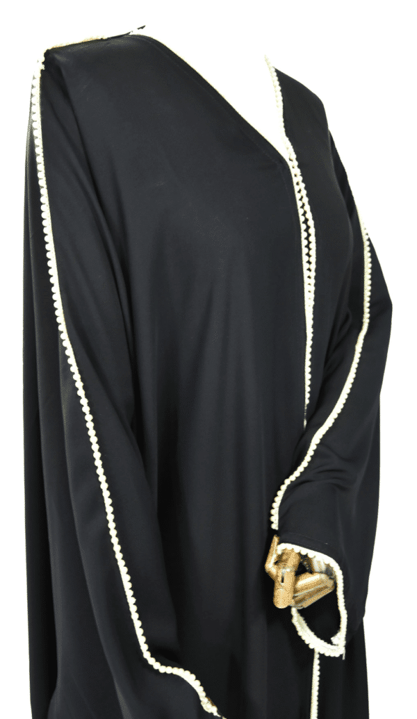 Abaya-papillon-perlée Ma-Abaya