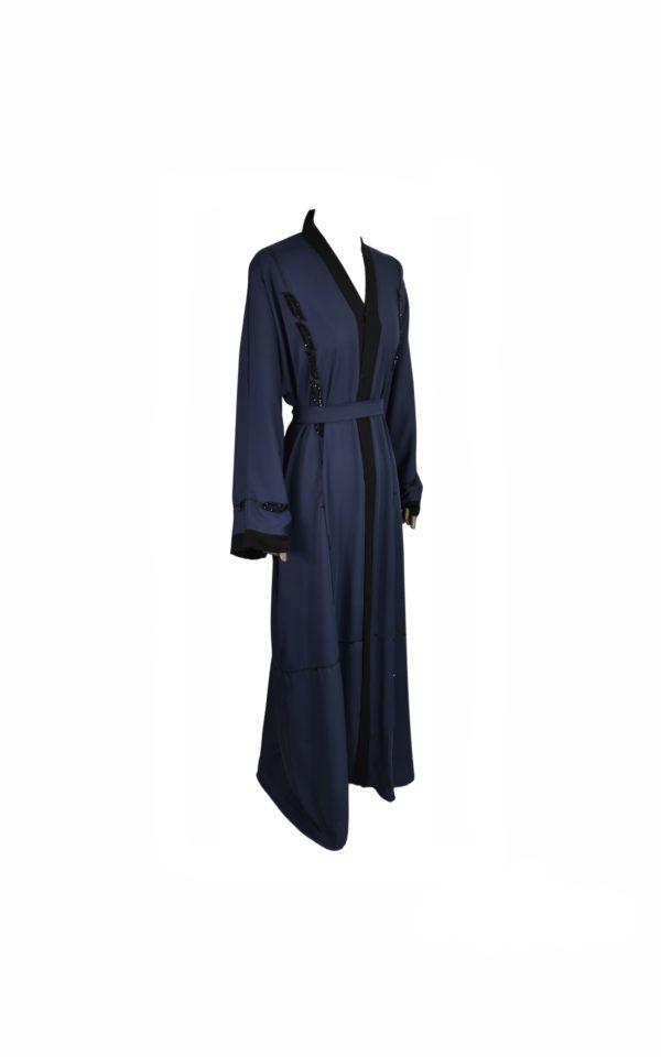 Abaya Kimono Bleue Ma-Abaya