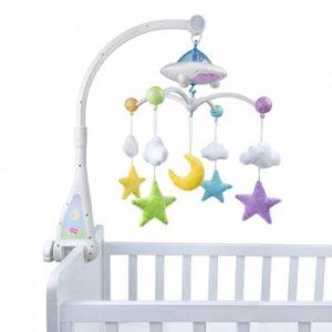 jeu educatif coranique de lit pour bebe telecommande sans fil moon stars quran cot mobile